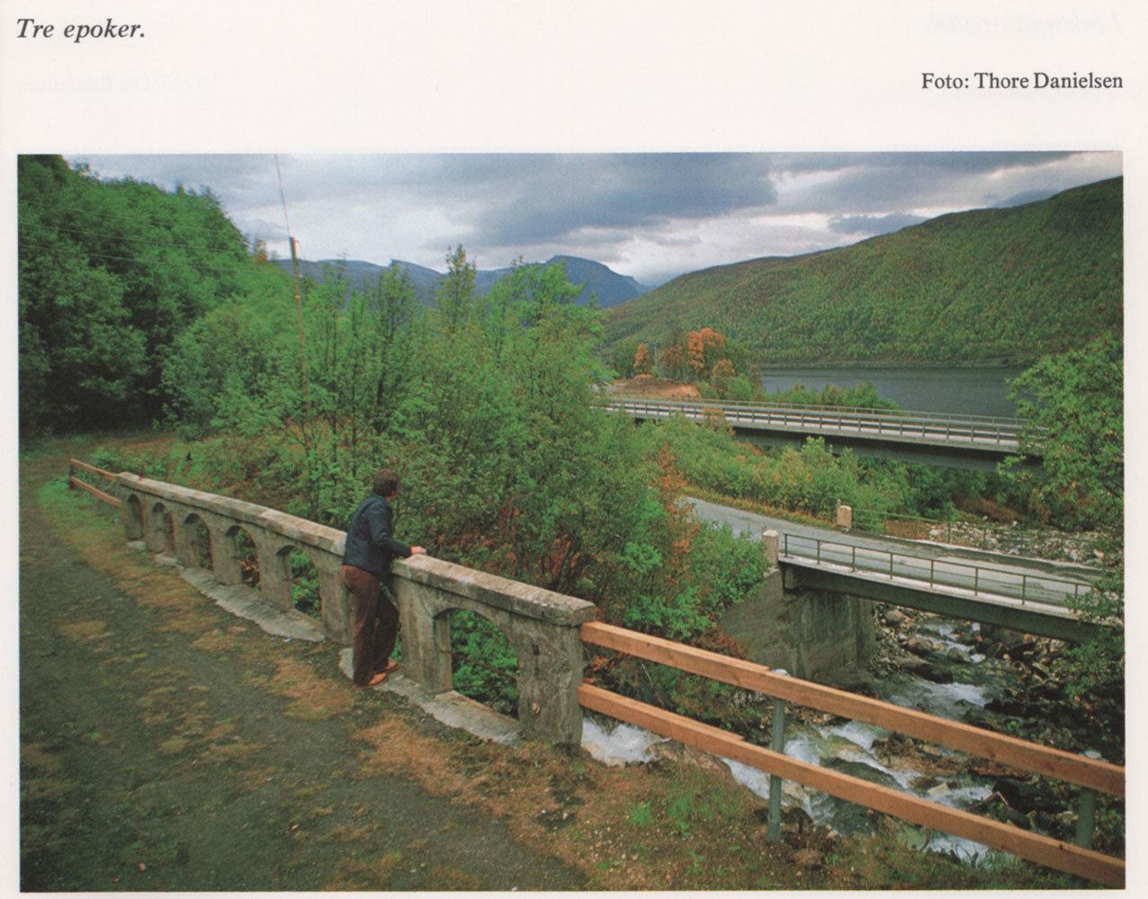 """Fra boka """"Mitt Tromsø - som unge fotografer ser det"""" utgitt av Tromsø Sparebank 1980."""